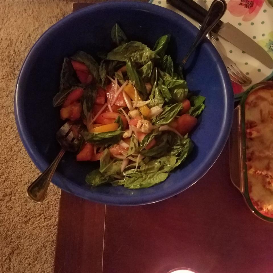 Tami's Tri Color Caprese Salad Casey Cays