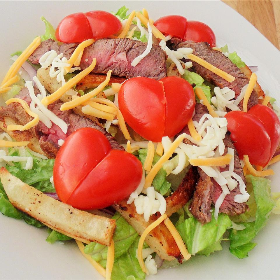 Philly Steak Salad Christina