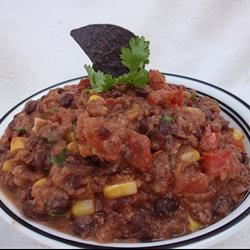Tex Mex Black Bean Dip Scotdog