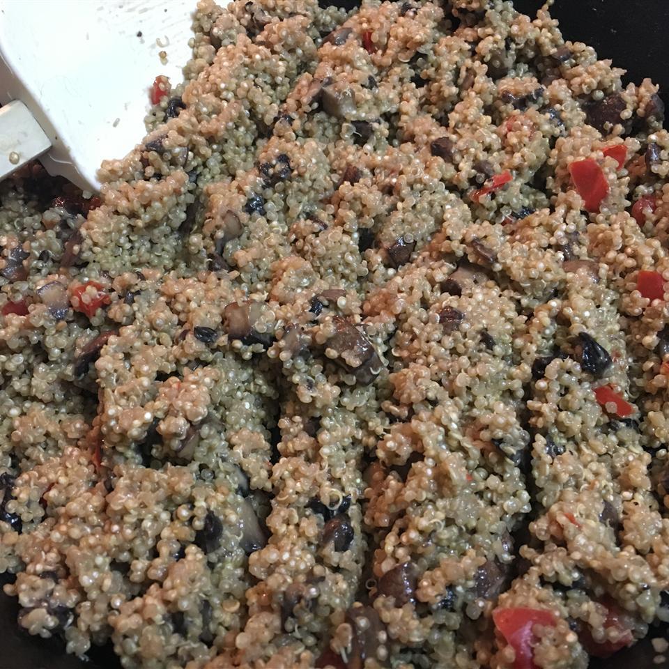 Quinoa Mushroom 'Risotto' Joy