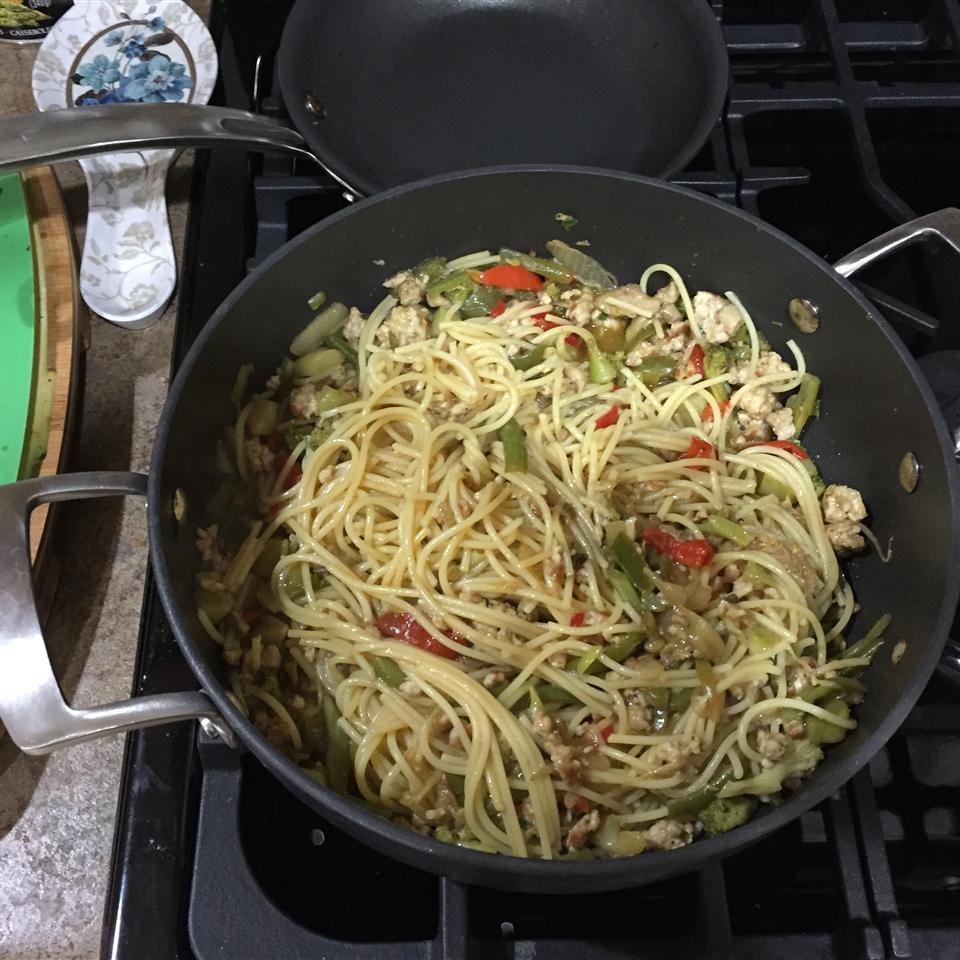 Vegetable Lo Mein David N Stefie Bowser