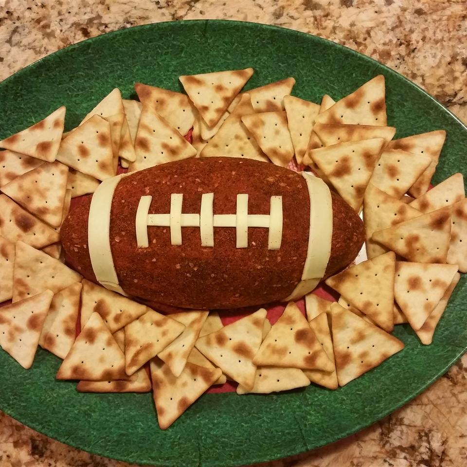Football Cheese Ball Sabrina Mozzillo