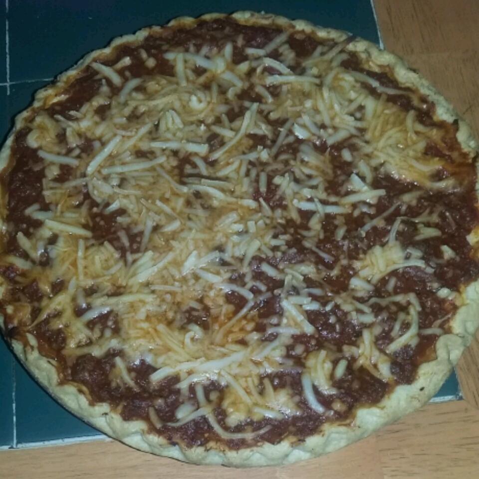 Three Cheese Spaghetti Pie Miltreda Kress