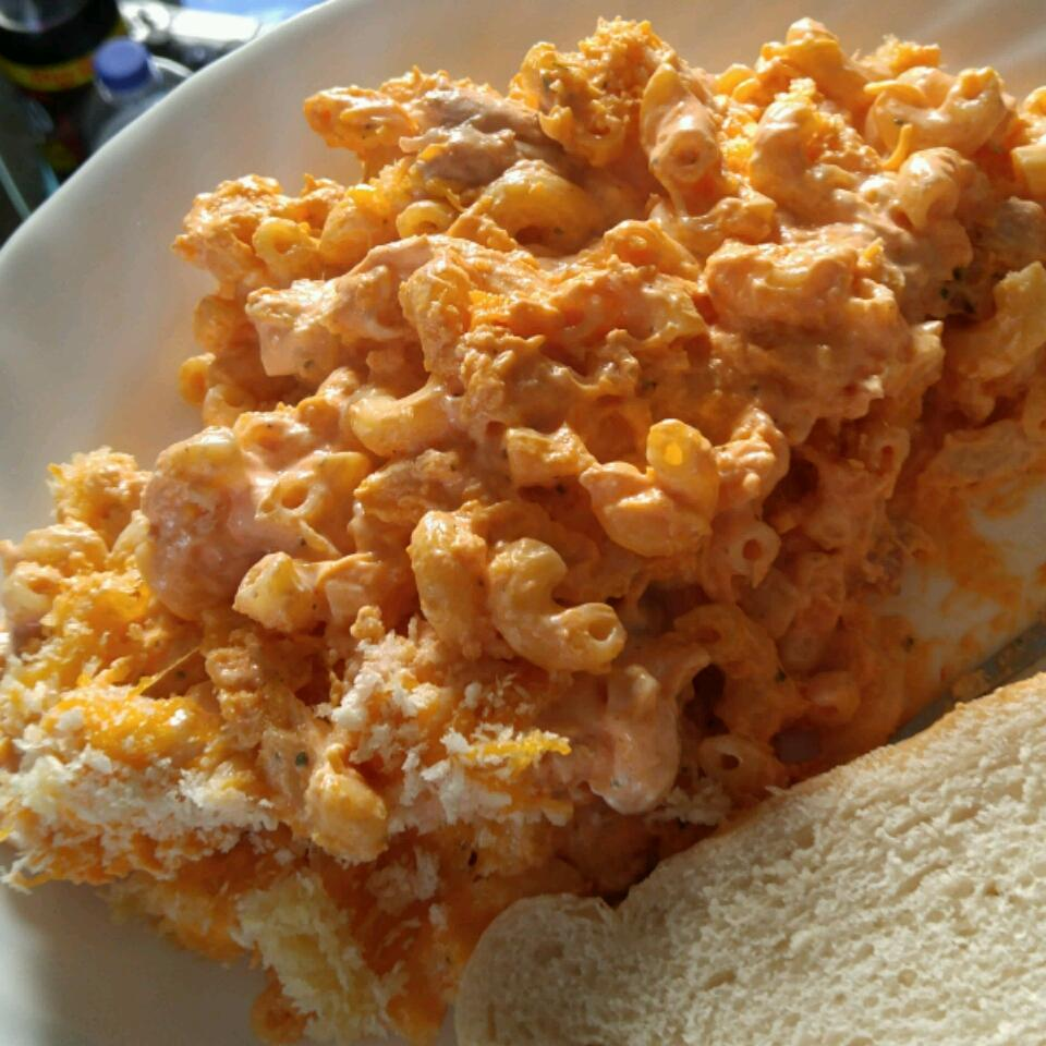 Baked Buffalo Chicken Mac and Cheese bumina