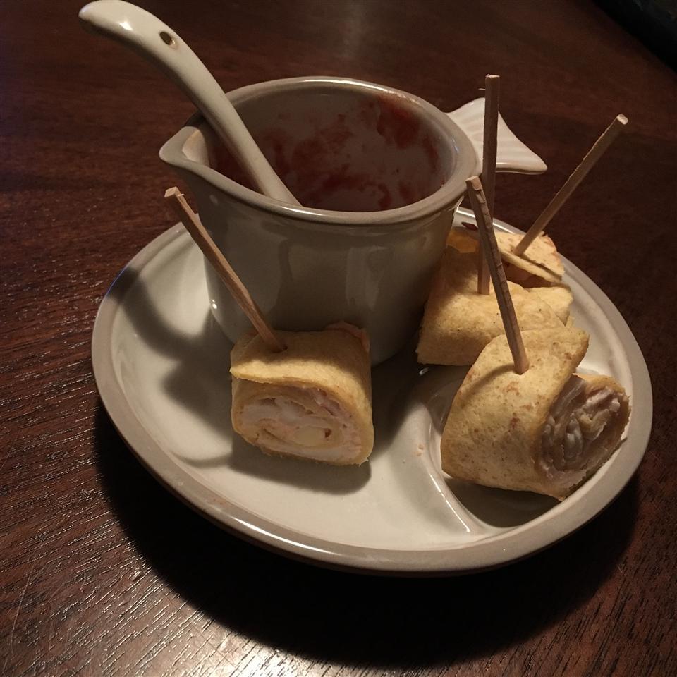Crabmeat Roll-Ups Dan Mead