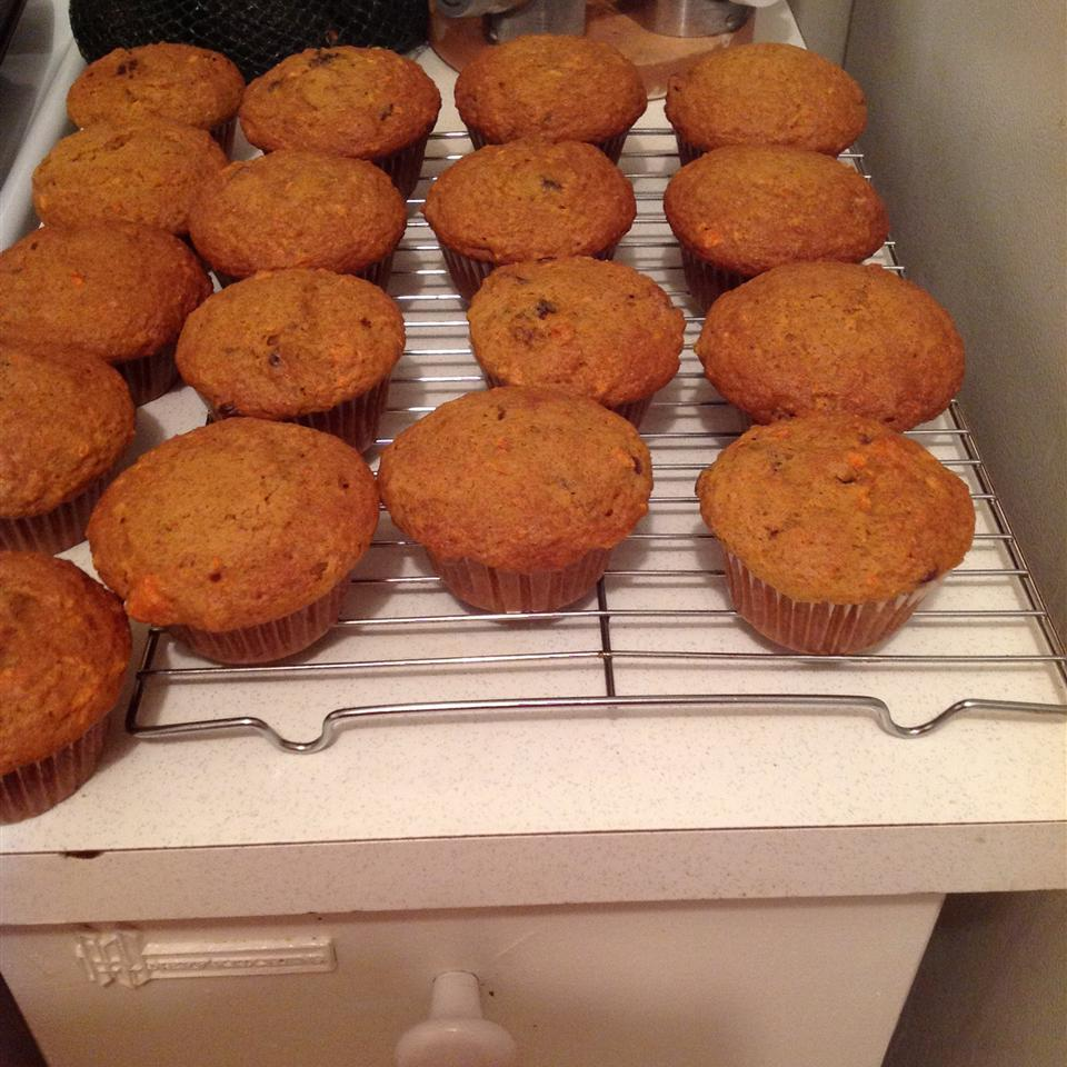 Awesome Carrot Muffins