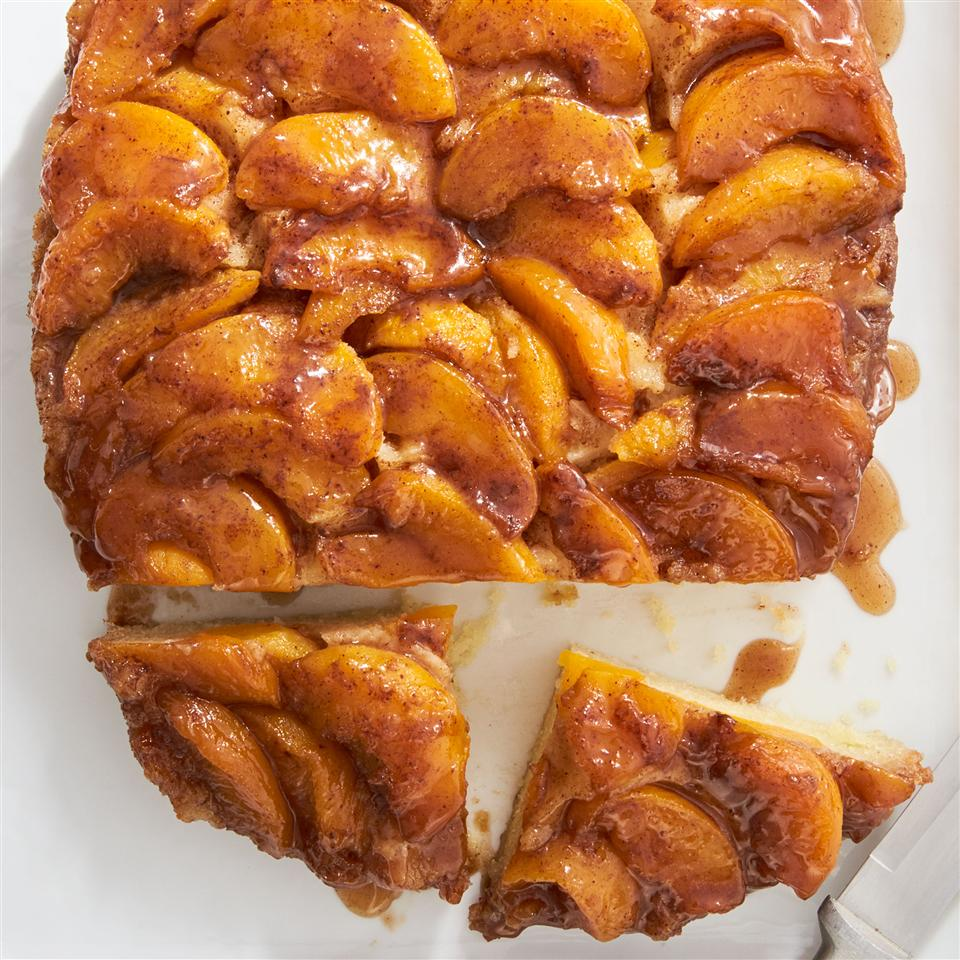 Slow Cooker Peach Upside Down Cake Allrecipes Magazine