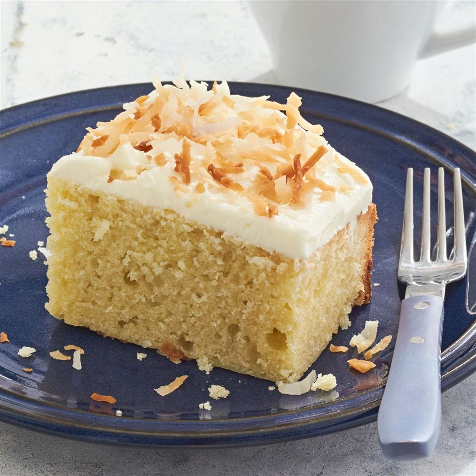 Triple Coconut Cake Allrecipes Magazine