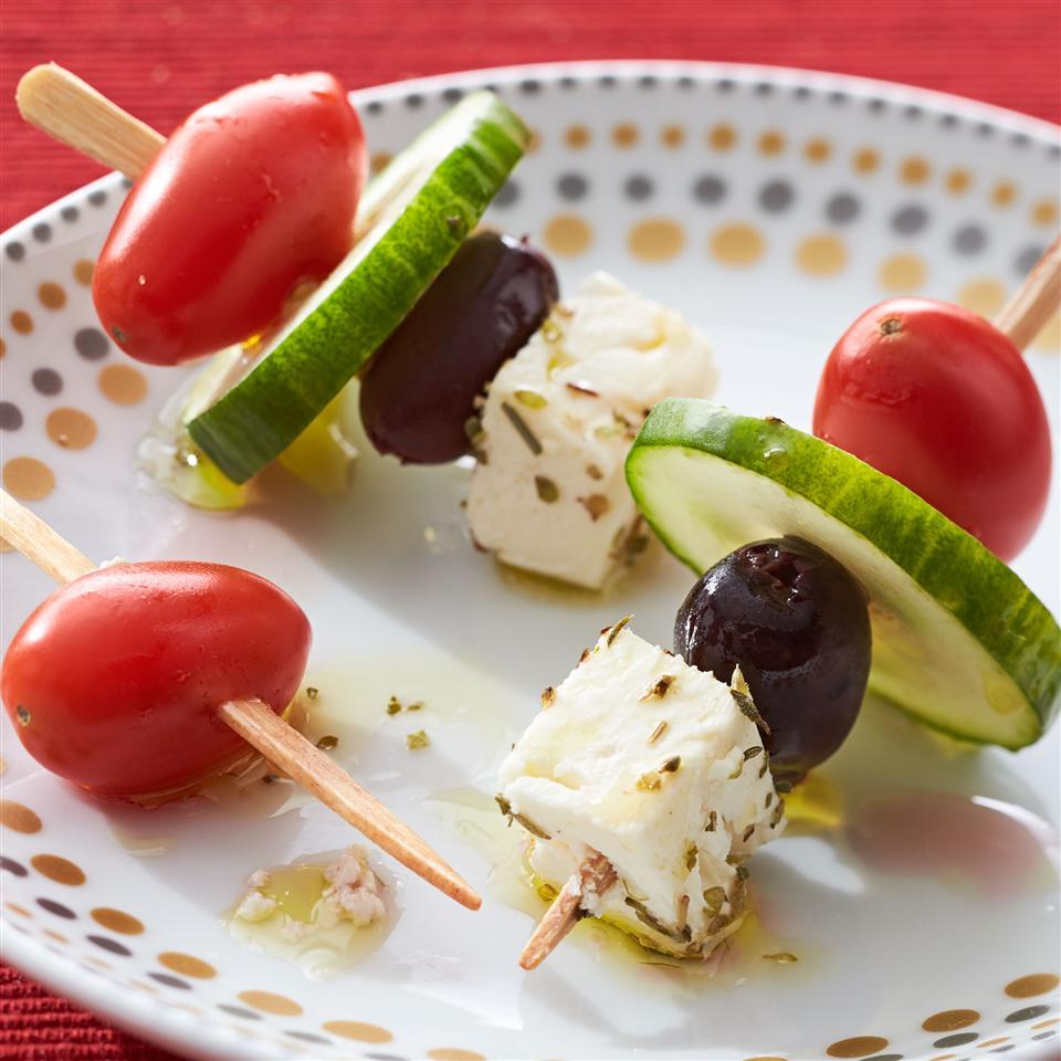 Greek Salad on a Stick Allrecipes Magazine