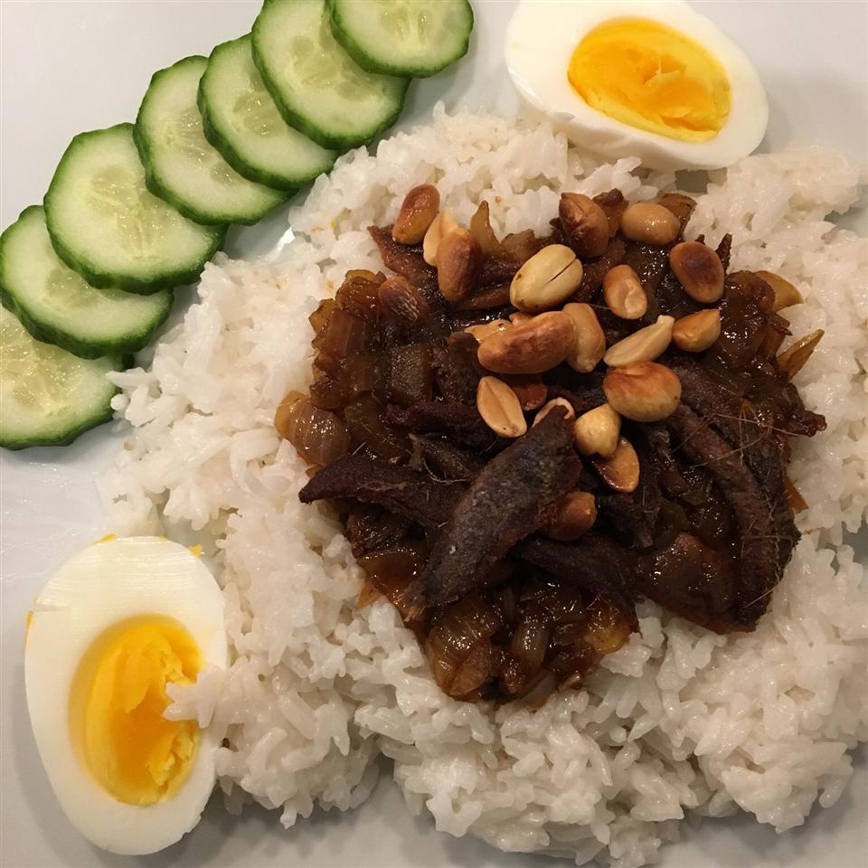 Malaysian Nasi Lemak thies
