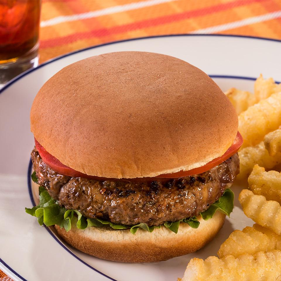 Zesty Black & Blue Burger