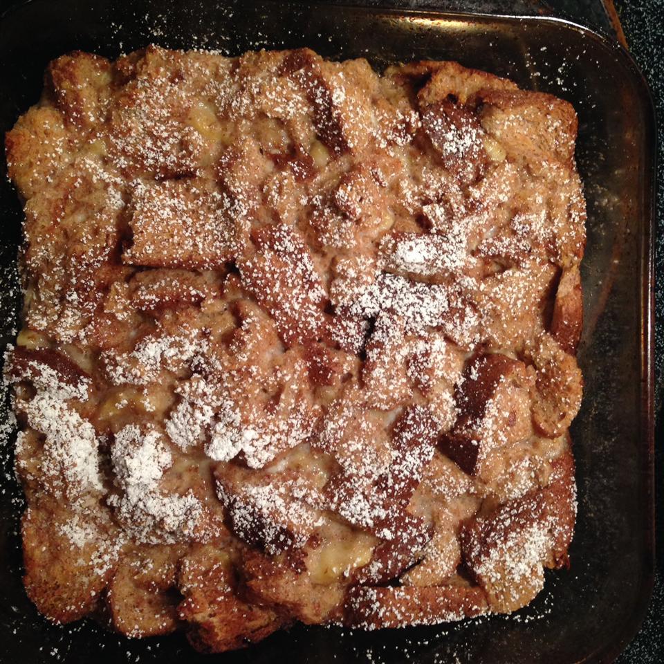 Easy Baked Banana French Toast spbick