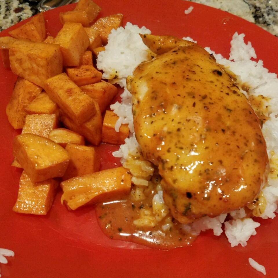 Honey Roasted Sweet Potatoes heathr911