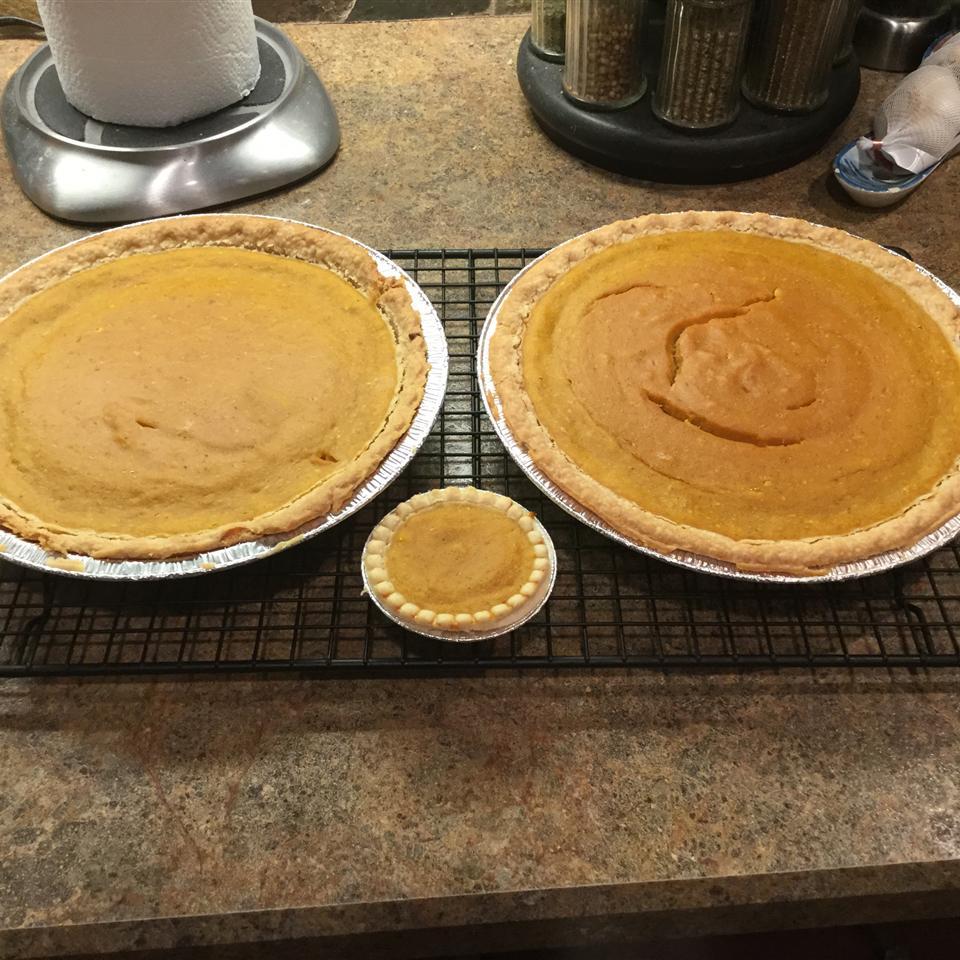 Pumpkin Maple Pie Supreme