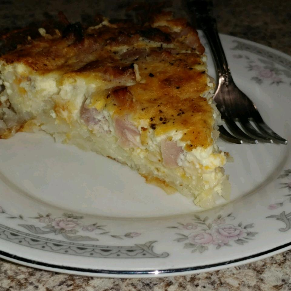Ham and Cheese Breakfast Quiche Harry Magargel