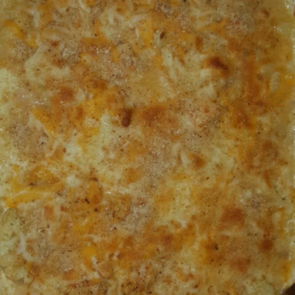 Low Carb Mac-ish and Cheese Chris Glandon