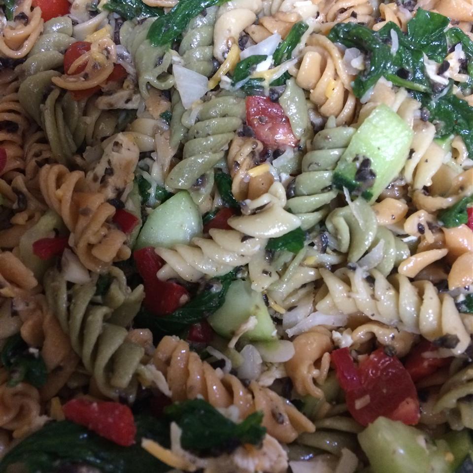Chicken and Vegetable Pasta Salad Benita N. Schramme