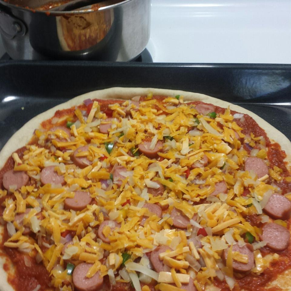 No-Yeast Pizza Crust
