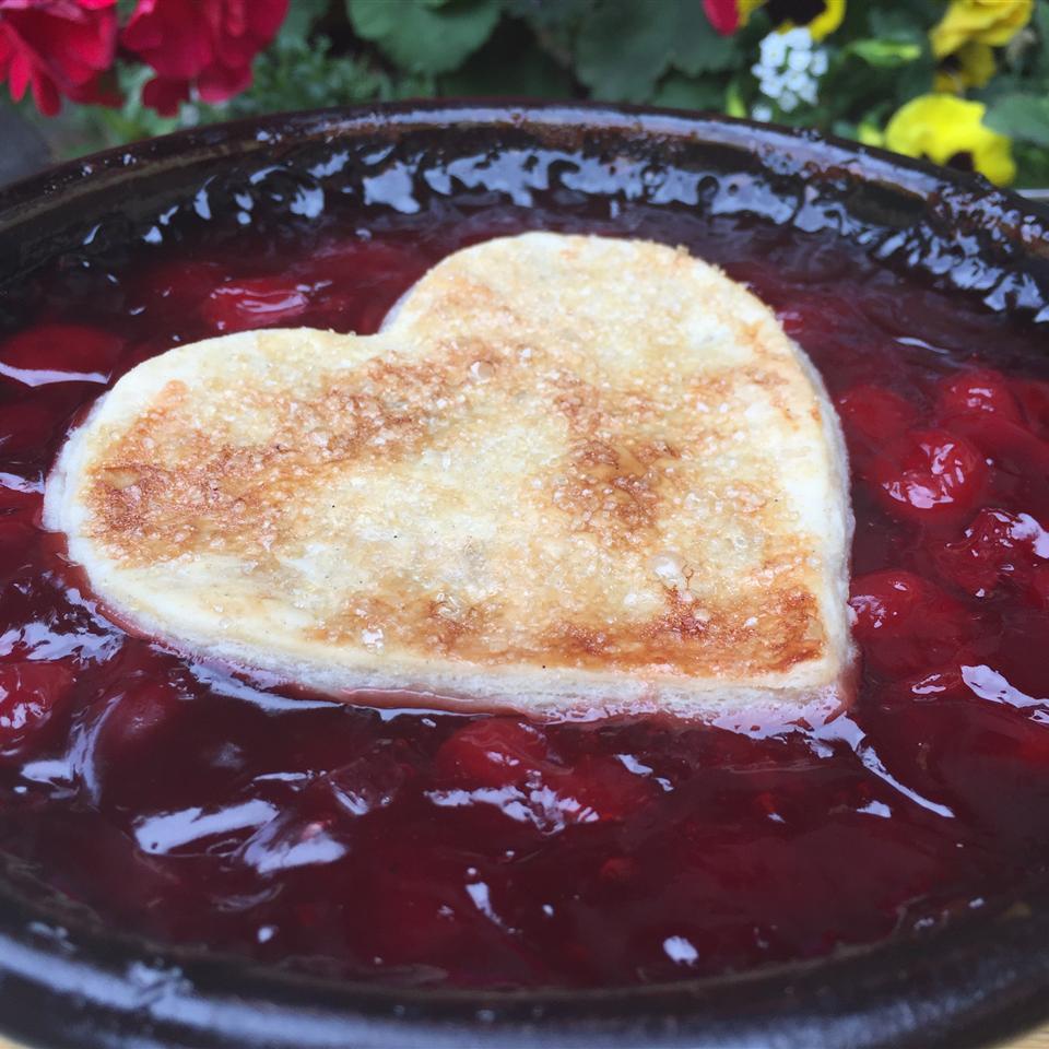 Tart Cherry Cobbler