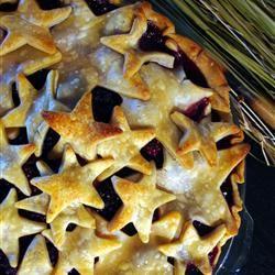 Blackberry Peach Pie WISHCHICK