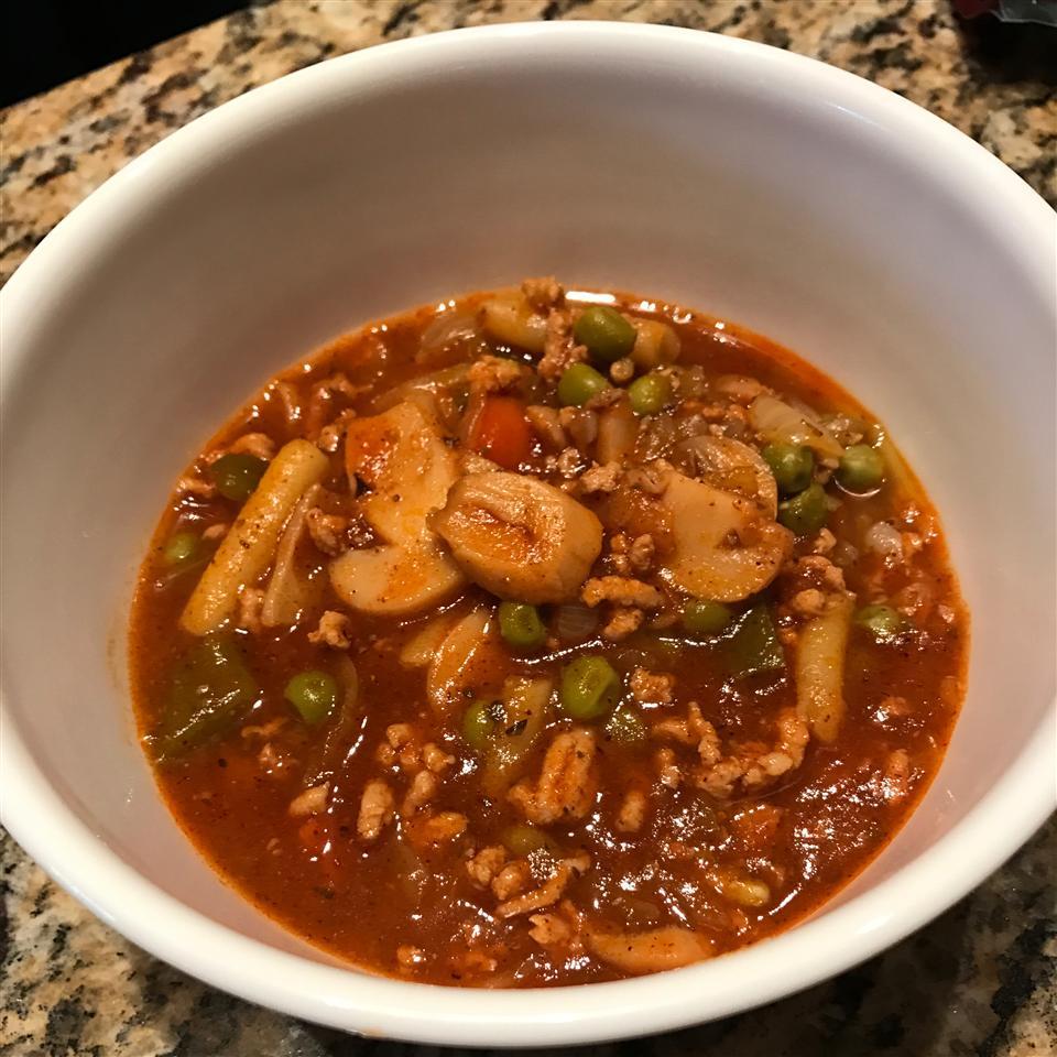 Chili with Ground Pork