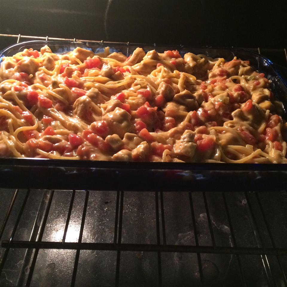Easy Mexican Chicken Spaghetti