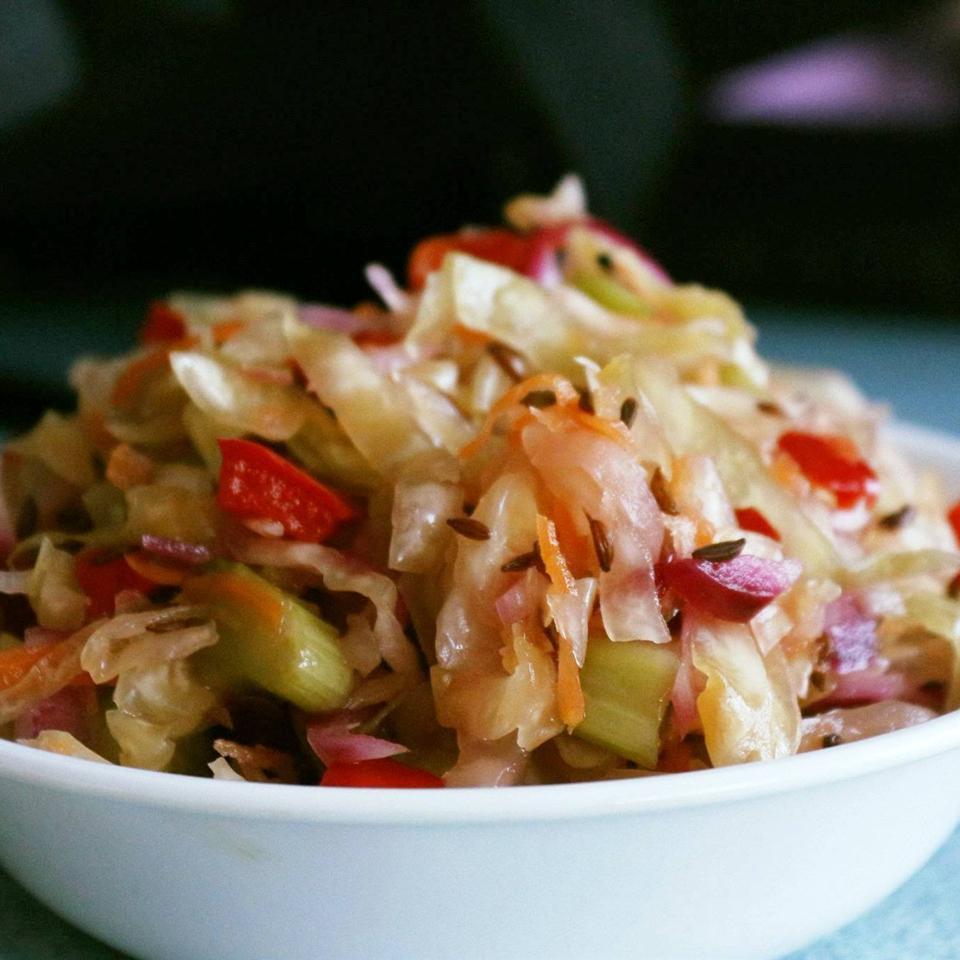 Sauerkraut Salad with Caraway Seeds