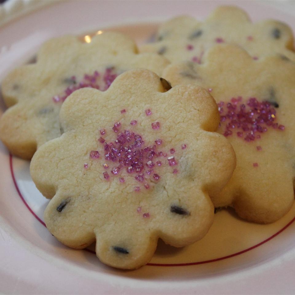 Lavender Shortbread Cookies Maryeileen Corcoran
