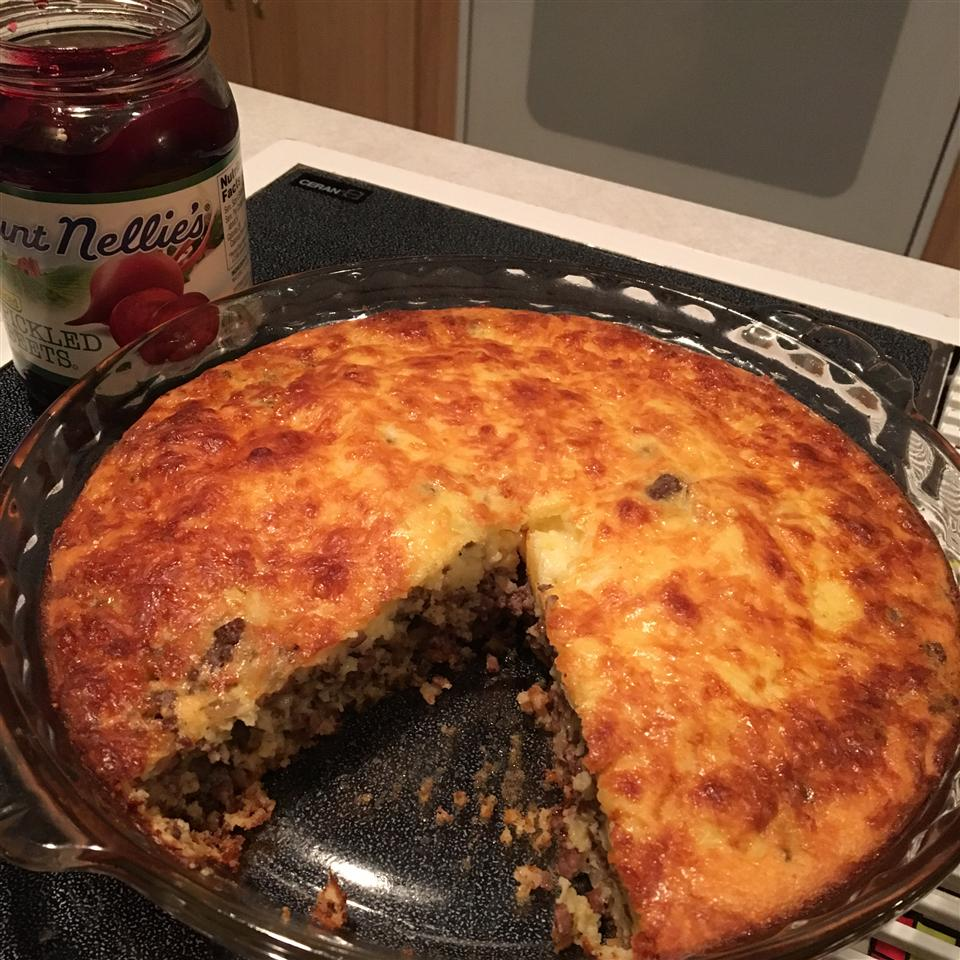 Gluten-Free Impossibly Easy Cheeseburger Pie Nathalie