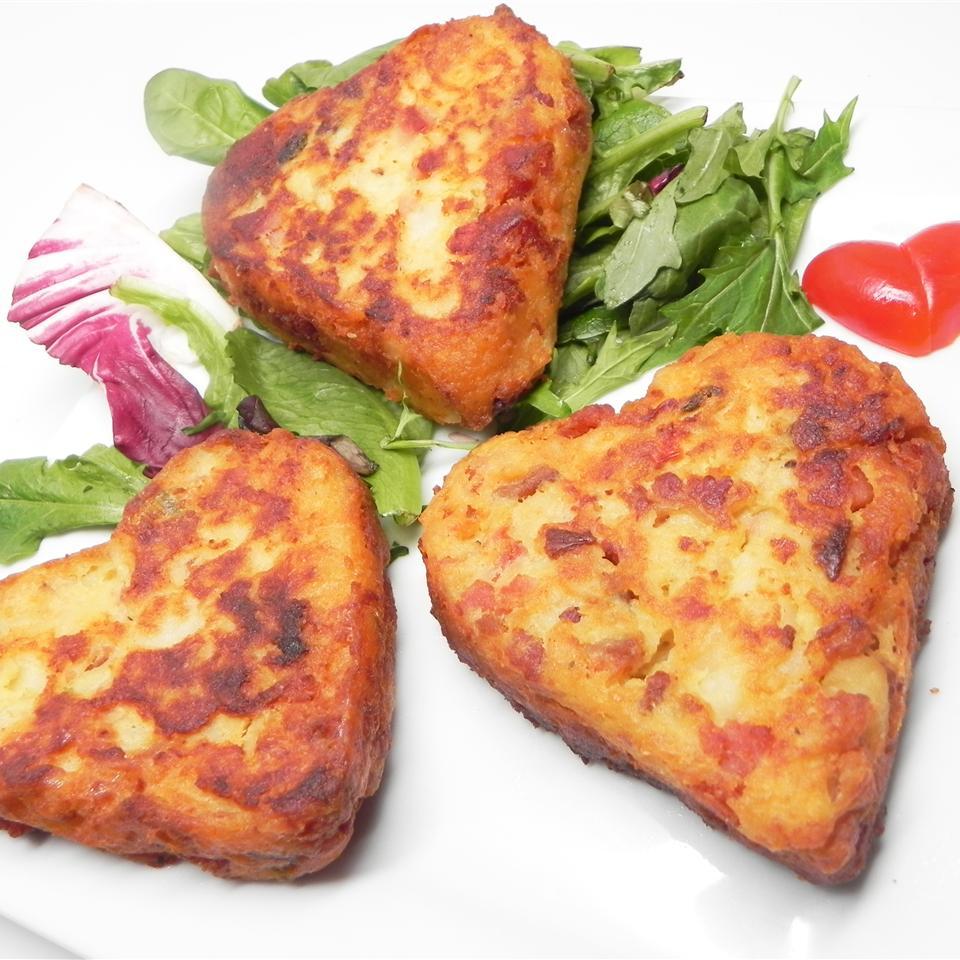 Bacon SPAM® and Potato Pancakes
