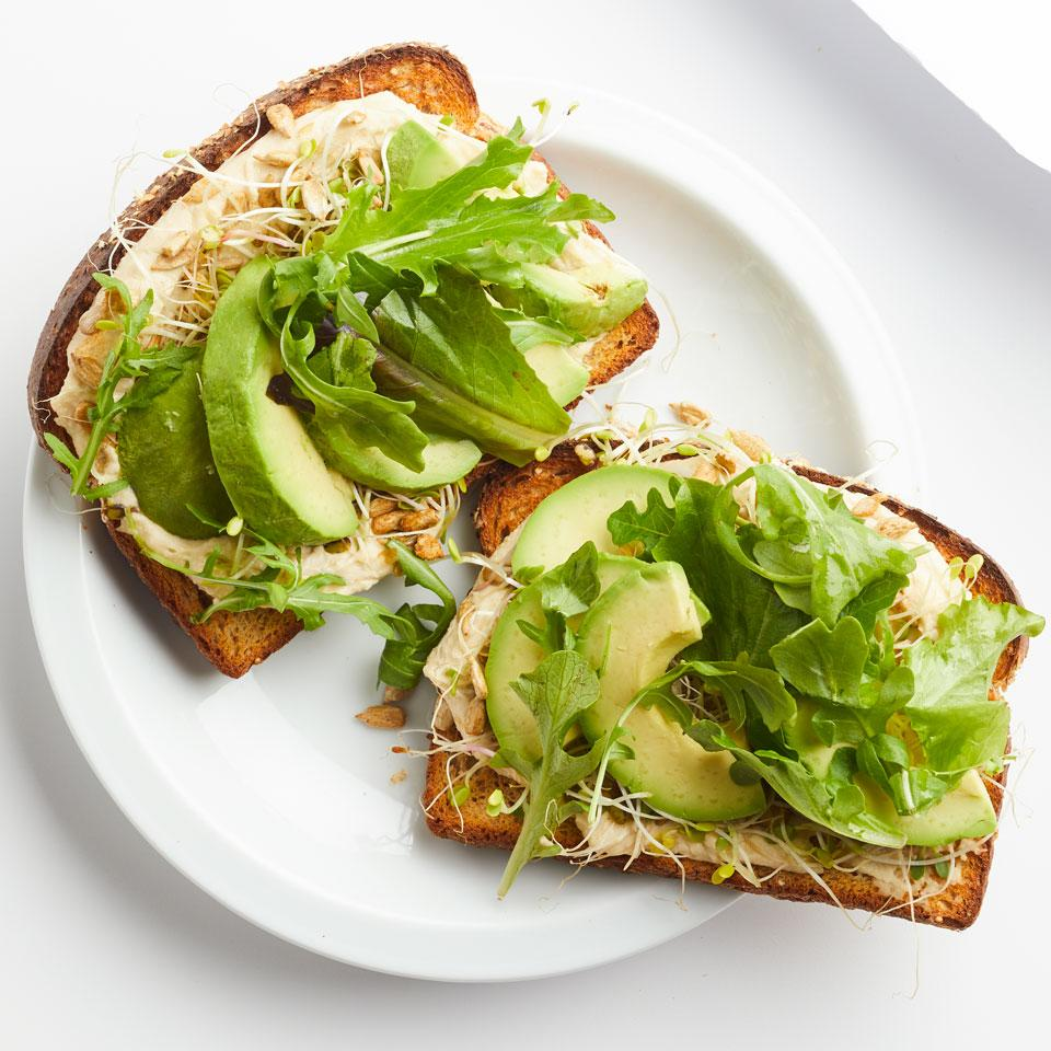 West Coast Avocado Toast Sara Haas, R.D.N., L.D.N.