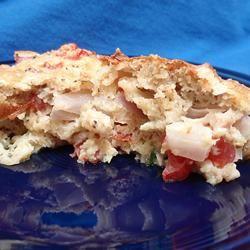 Zucchini Tomato Pie Scotdog