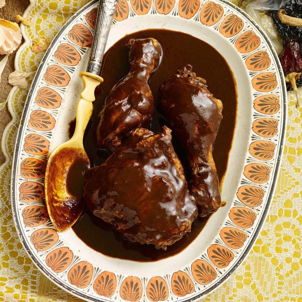 Chicken Mole Almendrado EatingWell Test Kitchen