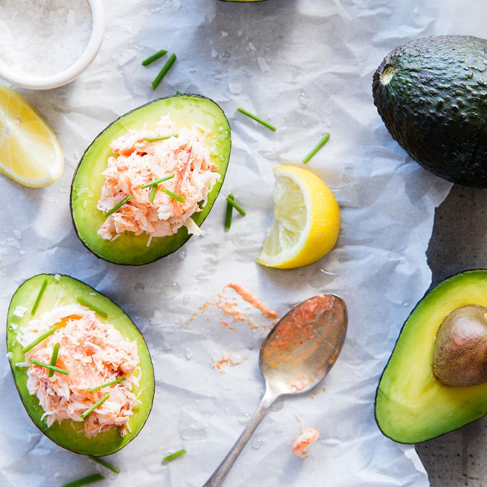 Stuffed Avocados EatingWell Test Kitchen