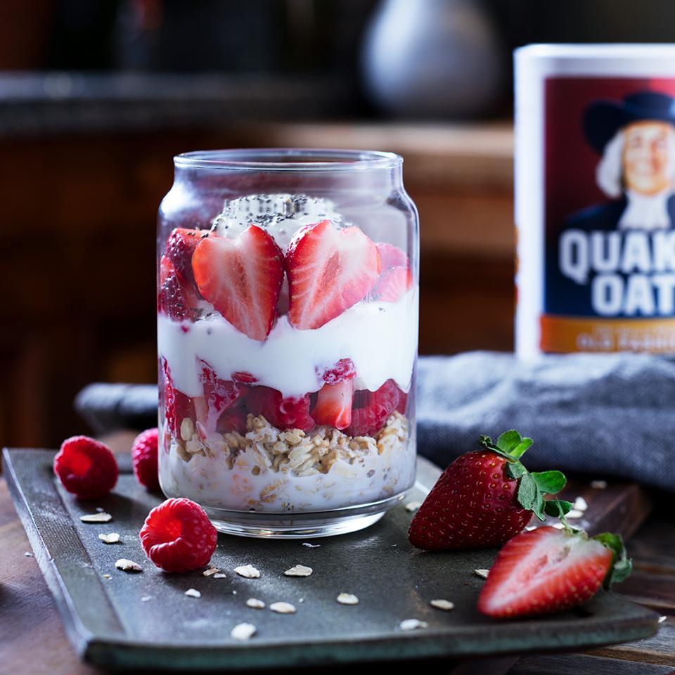 Berry Overnight Oats
