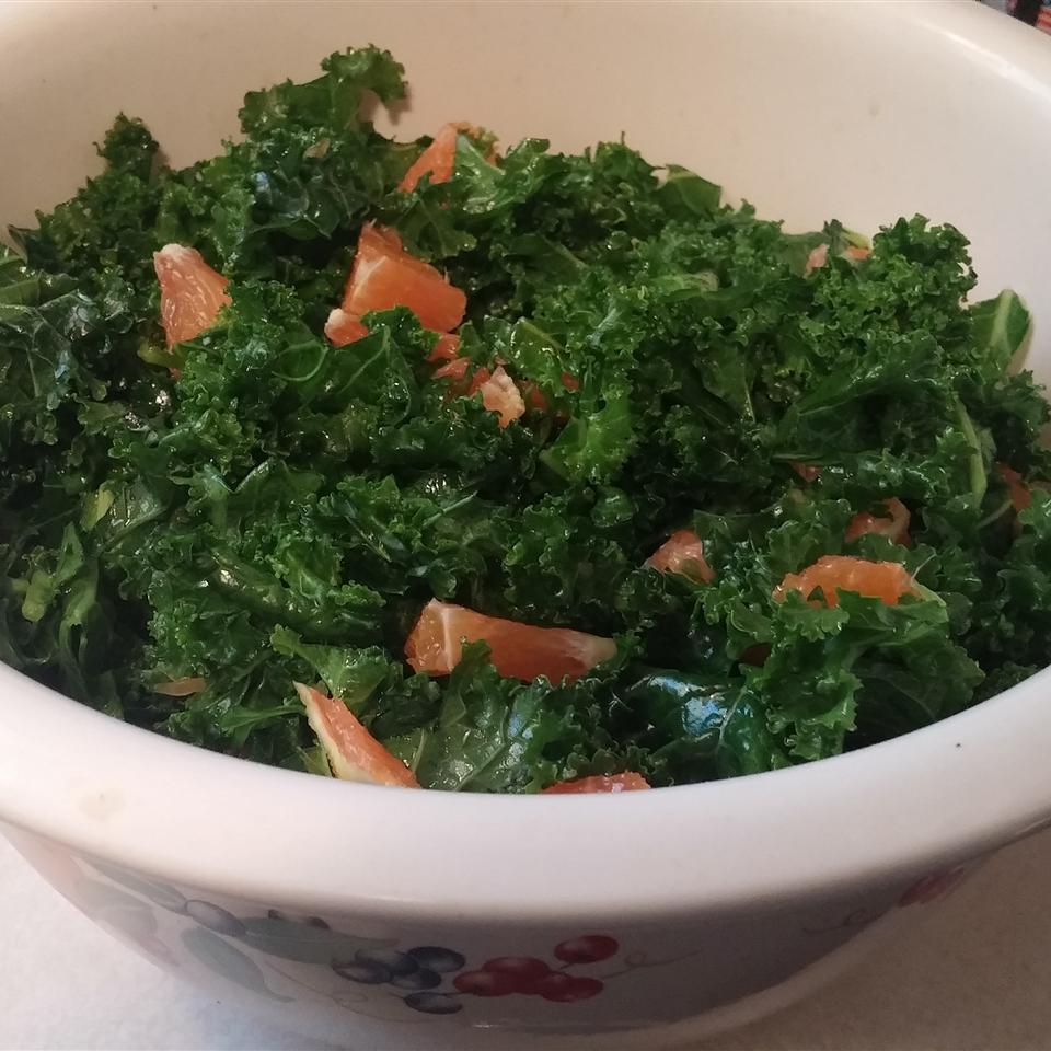 Honey-Ginger Kale Salad