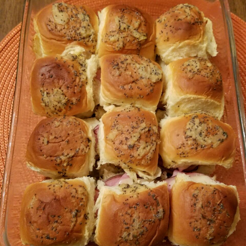 Hawaiian Ham and Cheese Sliders Nelson Burrell