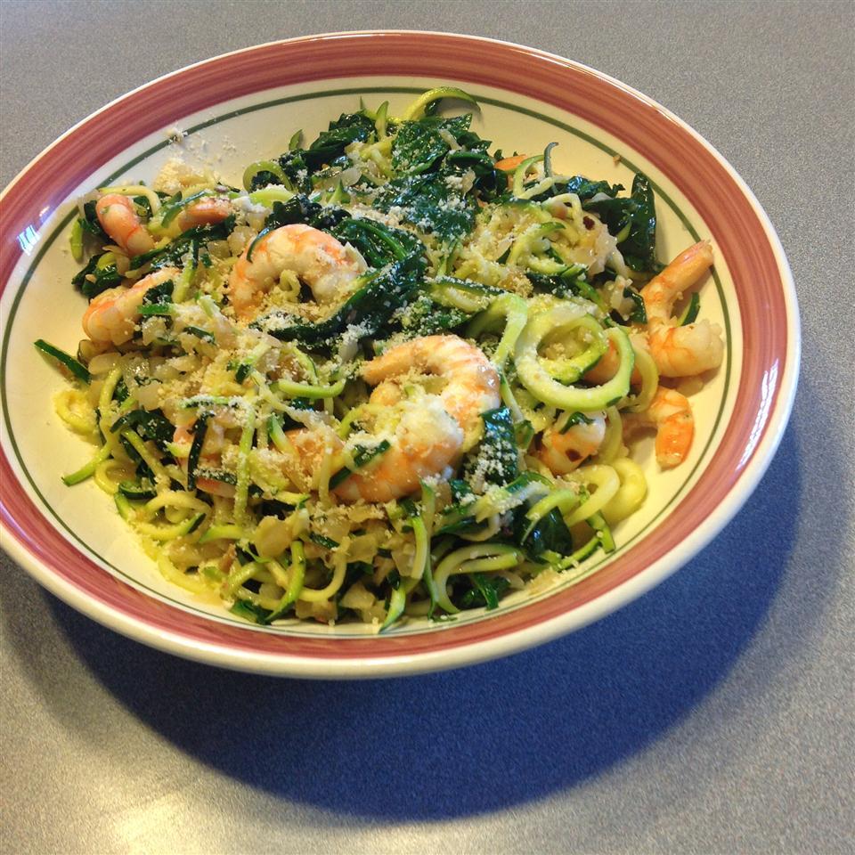 Shrimp Florentine with Zoodles Dan Rook