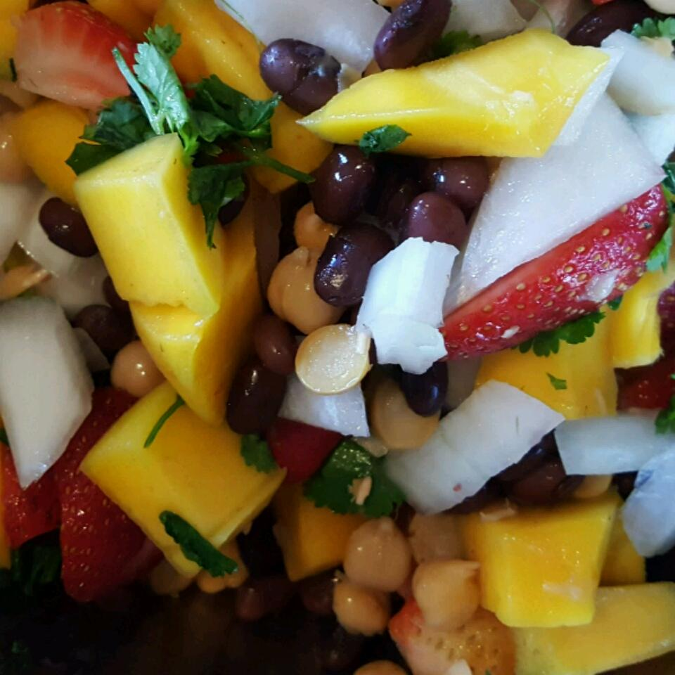 Two-Bean and Mango Salad