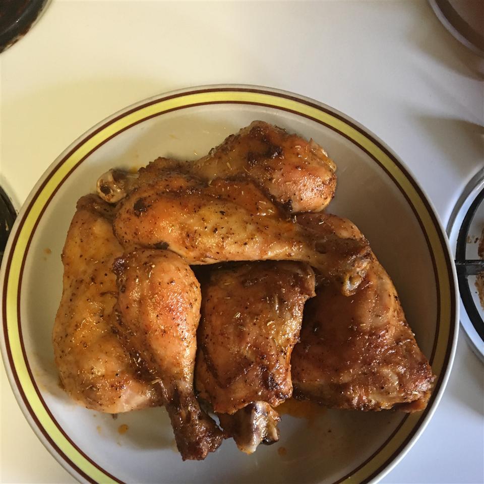 Sriracha Honey Chicken Legs
