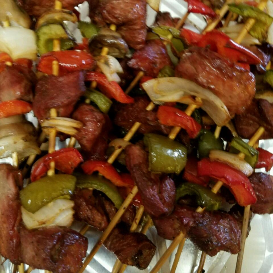 Mom's Beef Shish Kabobs