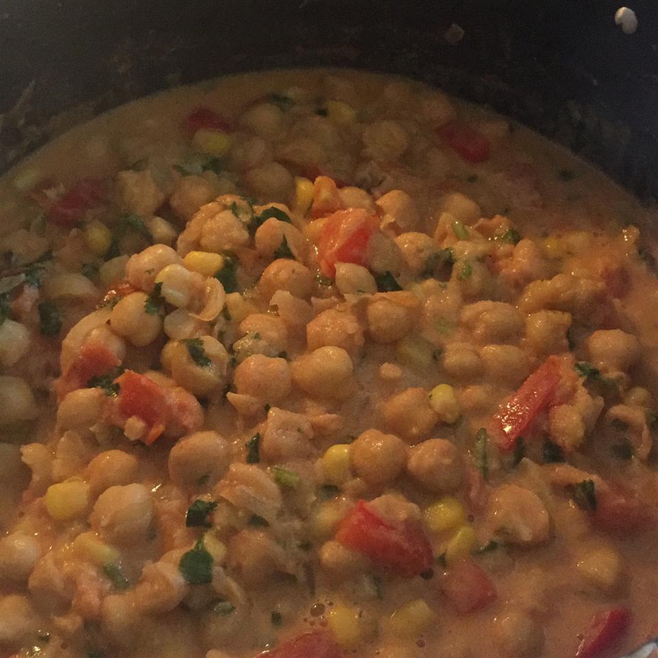 Delicious Chana Masala yesaire