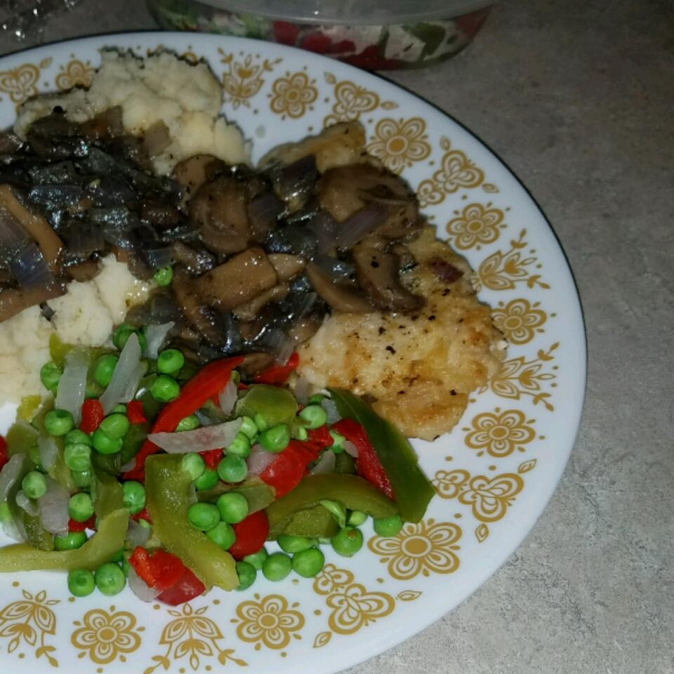 Chicken and Mushroom Saute