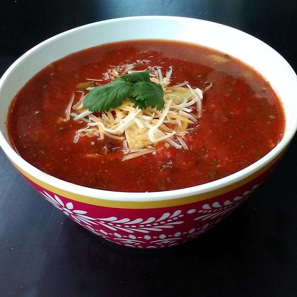 Texas Chicken Vegetable Soup