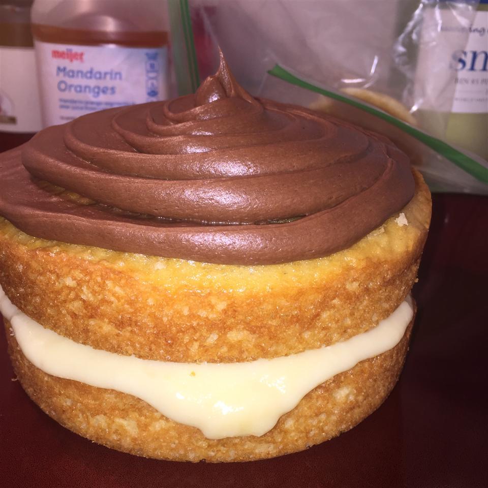 Easy Custard Cake Filling Melissa