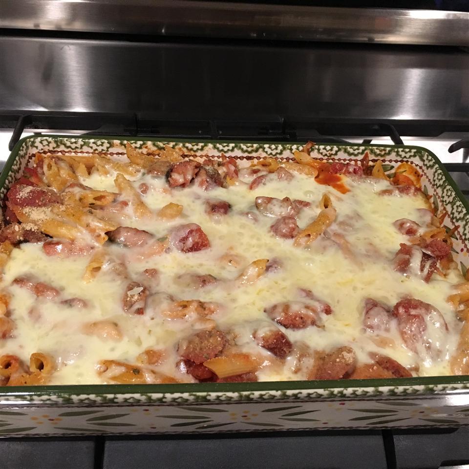 Kielbasa Pasta Casserole TifRN81