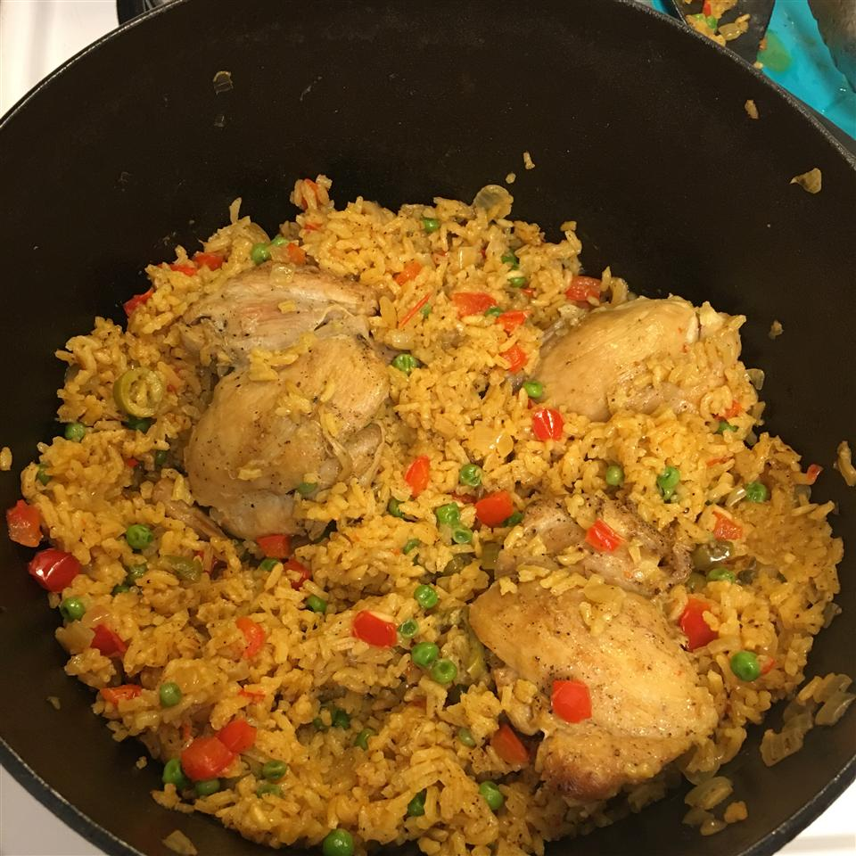 Arroz con Pollo (Chicken and Rice) Erin Taylor