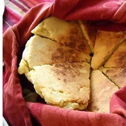 Algerian Bouzgene Berber Bread with Roasted Pepper Sauce