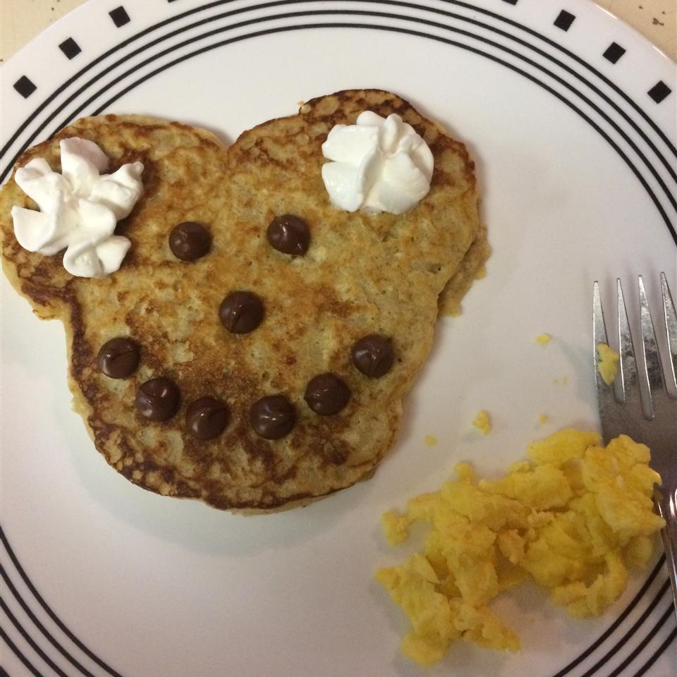 Peanut Butter and Jelly Oatmeal Pancakes Erin McMurray