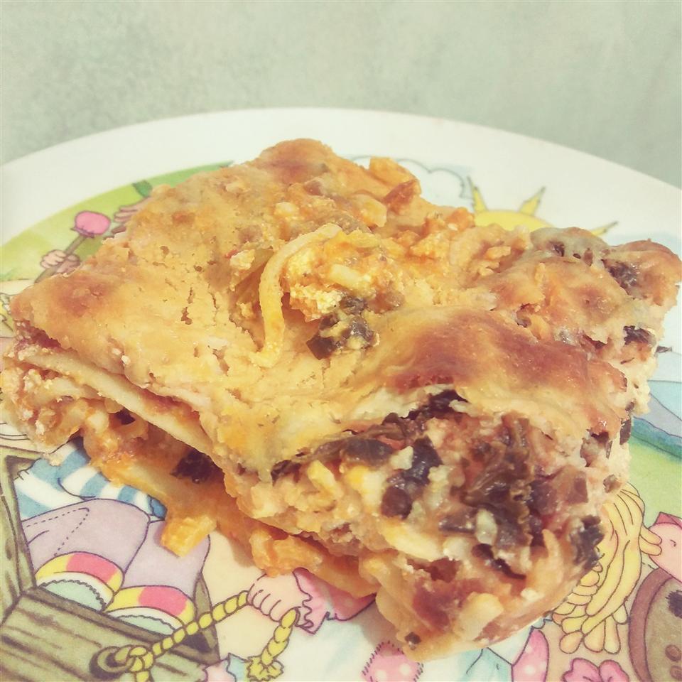 Left Over Spaghetti Lasagna Brenda Anne